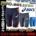 【送料無料/ポイント10倍】【ASM501】asics(アシックス) メンズ競泳水着 TOP iMPACT LINE<RAiOglide>スパッツ【専用フィッテンググローブ・スイムジャック付き】[FINA承認モデル/男性用競泳水着/高速水着/レース用/布帛素材/ライオグライド]
