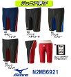 【N2MB6921】MIZUNO(ミズノ) ジュニア男子競泳水着 Stream Aqucela ソニックフィットAC ハーフスパッツ[競泳水着/子供用/スパッツ/FINA承認]