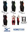 【送料無料】【N2MG7230】MIZUNO(ミズノ) レディース競泳水着 FX・SONIC ソニックフィットAC・W ハーフスーツ[競泳/女性用/スパッツ/ニット/布帛]