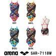 【SAR-7118W】ARENA(アリーナ) レディース競泳練習水着 タフスーツ タフスキンD タフ・クロスバック[競泳水着/女性用/タフスーツ/ワンピース/練習用/長持ち]