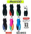 【送料無料】【SD34H03】【紙箱なし】SPEEDO(スピード) ジュニア女子競泳水着 FASTSKIN FS-PRO2 ニースキン[子供用/高速水着/布帛素材/選手向き/背中開きタイプ]