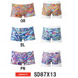 ●●【SD87X13】SPEEDO(スピード) メンズ競泳練習水着 DREAM TEAM UV FLEX メンズトレインボックス[競泳/男性用/練習水着/長持ち]