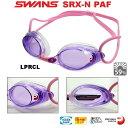 【スイムゴーグル】SWANS スワンズ クッション付き スイミングゴーグルSRX クリアタイプ PREMIUM ANTI-FOG 水泳 SRX-NPAF-LPRCL