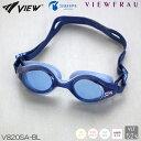 【スイムゴーグル】【女性専用】VIEW ビュー クッション付き スイミングゴーグル クリアタイプ スワイプアンチフォグ VIEWFRAU(ビューフラウ) 水泳 V820SA-BL
