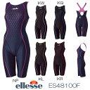 《今すぐ使えるクーポン配布中》エレッセ ellesse 競泳水着 レディース オールインワン fina承認 ウルトラストレッチFINA ES48100F-HK