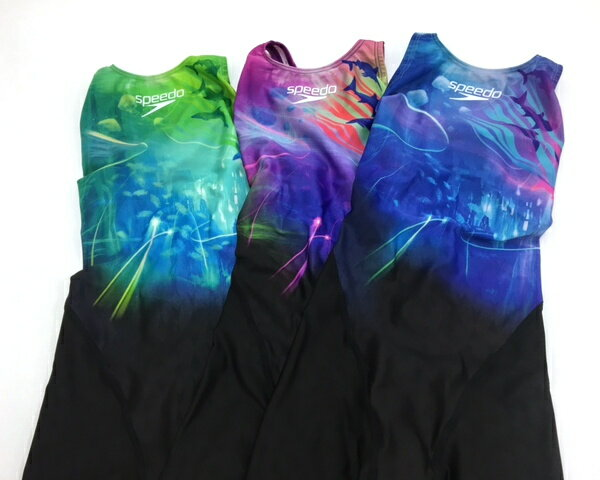 ●●【SD46H62】SPEEDO(スピード)レディース競泳水着FLEXΣウイメンズセミオープンバックニースキン8[競泳/女性用/FINA承認/スパッツ]