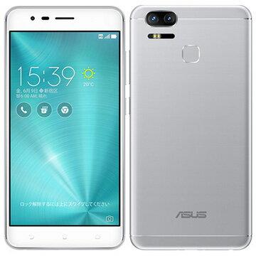 デュアルカメラとデュアルSIMスロット搭載!ASUS Zenfone Zoom S (SIMフリー) Silver ZE553KL-SL...