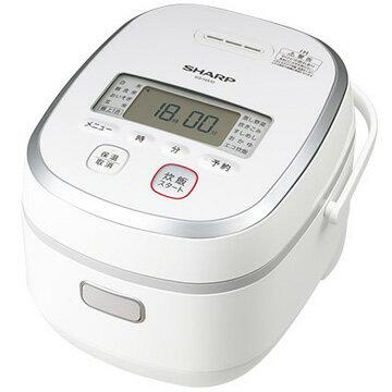 シャープ IH炊飯器 5.5合炊き ホワイト KS-HA10-W