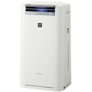 シャープ 加湿空気清浄機 プラズマクラスター25000 ホワイト KI-HS70-W