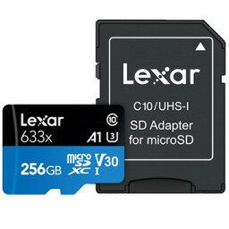 Lexar microSDXCカード 256GB (並行輸入品) LSDMI256BB633A