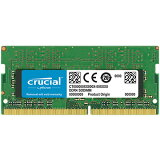 Crucial 8GB DDR4 2400 MT/s (PC4-19200) CL17 SR x8 Unbuffered SODIMM 260pin Single Ranked CT8G4SFS824A