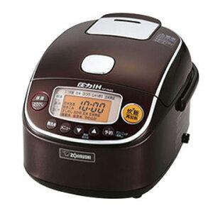 象印マホービン 圧力IH炊飯器 極め炊き 3合炊き ブラウン NP-RM05-TA