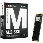 BIOSTAR 内蔵SSD PCI-Express Gen3 x4接続NVMe V1.3対応 1TB /TLC NANDフラッシュ 製品保証3年 M700-1TB