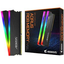 GIGABYTE AORUS RGB Memory 16GB (2x8GB) 3333MHz GP-ARS16G33