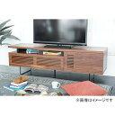 関家具 【くらしと×RoomClip】Original TV board Asymmetry160 (ウォールナット) 301352