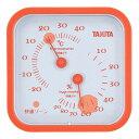タニタ 温湿度計 オレンジ TT-557-OR
