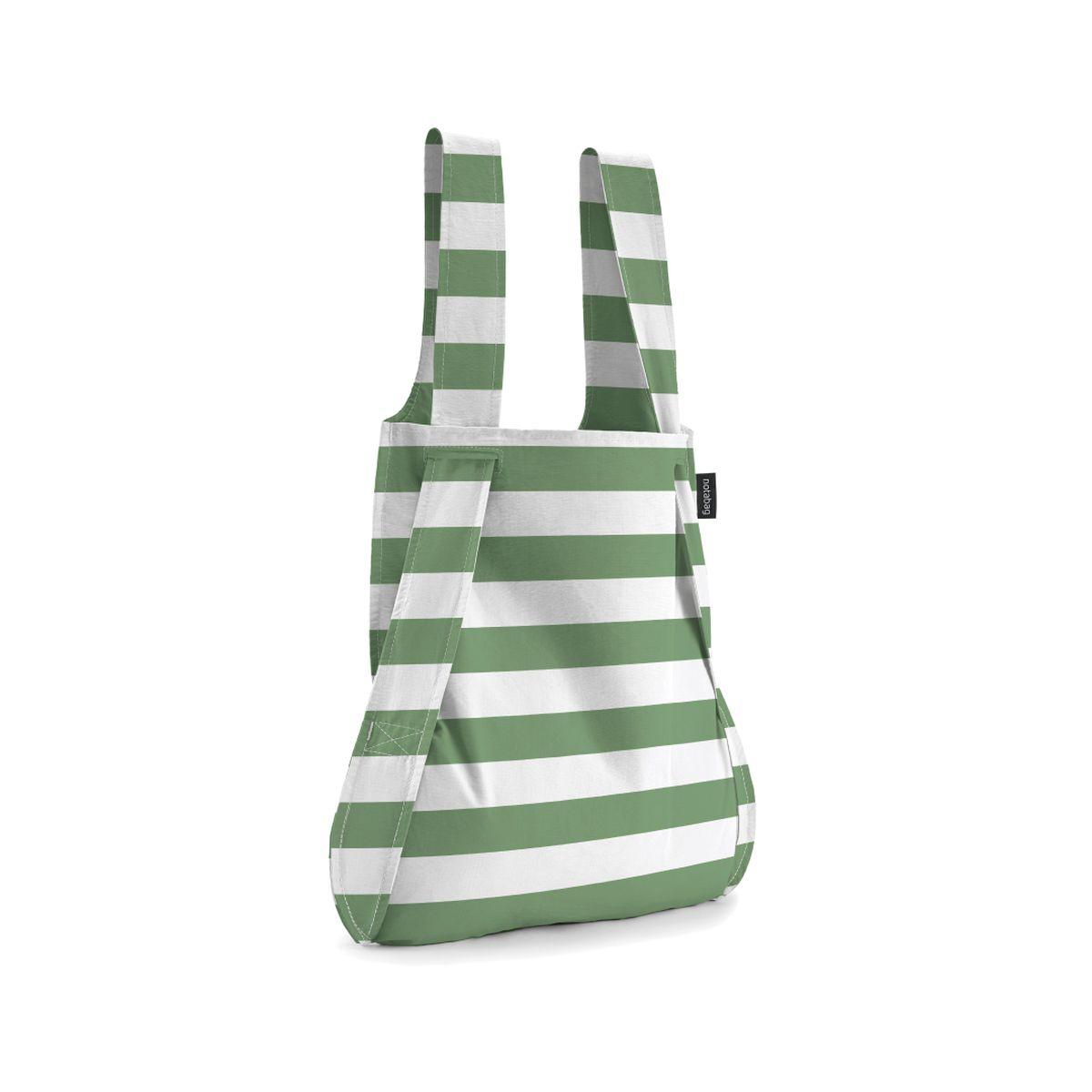 男女兼用バッグ, バックパック・リュック  Notabag() BAG BACKPACK Olive Stripes NTB002-OLS