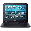 Acer 12型ノートPC Chromebook (Celeron 5205U/4GB/64GB eMMC/シェールブラック) C871T-A14P