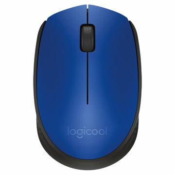 ロジクール ワイヤレスマウス ブルー M171BL