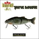 【あす楽対応】イマカツ バスロイド ジュニア トリプルダブル3DリアリズムIMAKATSU BASSROID-Jr TRIPLE DOUBLE釣り具 フィッシング…