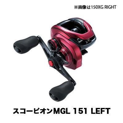 フィッシング, リール  19 MGL 151 LEFT 4969363040329 SHIMANO 19 Scorpion MGL 151