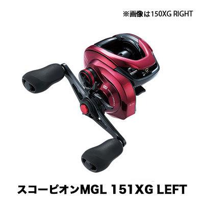 フィッシング, リール  19 MGL 151XG LEFT 4969363040367 SHIMANO 19 Scorpion MGL 151XG