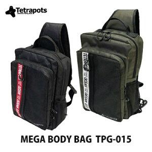 【あす楽対応】テトラポッツ ショルダーバッグ メガボディバッグ TPG-015モンゴル800 モンパチ (テトラポット)Tetrapots Mega Body Bag TPG-015釣り具 フィッシング 収納 リュック バッ