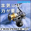 シマノ 15ツインパワーSW 8000HG 釣り具 フィッシング スピニングリール オフショア ジ...