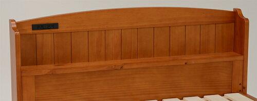木製ベッドシングルすのこ仕様