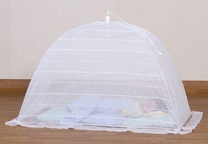 天然素材綿100%使用ワンタッチベビー蚊帳かや日本製