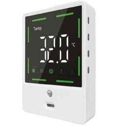 非接触式ウイルス対策体温計温度計壁掛け式 kkkez