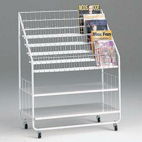 コンビニの雑誌ラック90cm幅送料込み::画像1