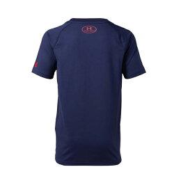 アンダーアーマー 野球ウェア 半袖Tシャツ ジュニア UAテックテキストTシャツ ベースボール Tシャツ BOYS 1331540-410 UNDER ARMOUR bb