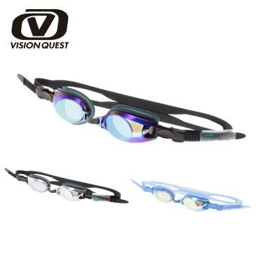 ビジョンクエスト ( VISION QUEST ) スイミングゴーグル ( ジュニア ) ラチェットミラーゴーグル VQ470302F06