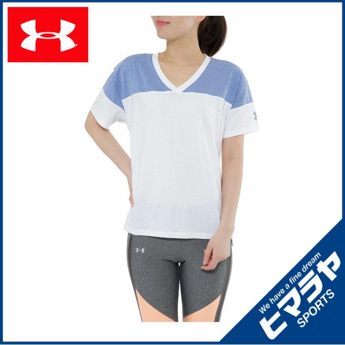 アンダーアーマー UNDER ARMOUR スポーツウェア Tシャツ レディース ワードマークバックヒットボクシーSS 1290678【17SSUA】