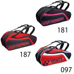 ヨネックス(YONEX) (ラケット6本収納可能) TOURNAMENT & ACTIVE series ラケットバッグ6 リュック付 BAG1812R ラケットバッグ リュック テニスバッグ