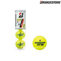 ブリヂストン(BRIDGESTONE) XT8 4球入り (XT-8) BBA4XT 硬式テニスボール ITF公認球 JTA公認球