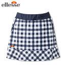 エレッセ(ellesse) ウィメンズ チームスカート (Team Skirt) ETS2910L-NC テニスウェア レディース