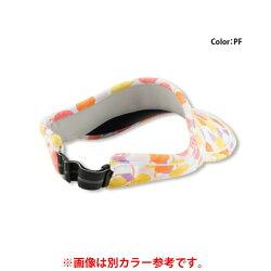 エレッセ(ellesse) レディース ゲームバイザーP (Game VisorP) EAC1900L-NC テニス サンバイザー UPF50+
