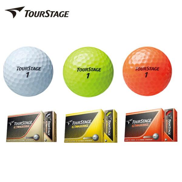 ブリヂストンゴルフボールツアーステージTOURSTAGEエクストラディスタンスEXTRADISTANCE1ダース12個入り