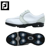 フットジョイ Foot Joyゴルフシューズ スパイクレス レディースグリーンジョイズ48402