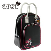 オプスト OPSTOPSTレディスシューズケース BK/PK40P230206-01ゴルフ バッグ レディース