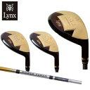 リンクス LYNX ゴルフクラブ ユーティリティ メンズ Golden Lynx2 UT