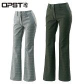 オプスト OPSTゴルフウェア レディースチェックパンツOP220407E08