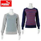 プーマ PUMAINカラーブロックセーター570109ゴルフウェア レディース