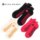 ビバハート VIVA HEARTゴルフアクセサリーショートソックス レディーススニーカーソックス ボンボン017-42904