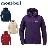 モンベル mont-bellライトシェルパーカ1106562アウトドアウェア トレッキング ジャケット レディース