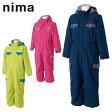ニーマ nima ジュニアスキーウェア JR-4656 トドラーワンピース キッズスノースーツ スノーボードウェア 男の子 女の子 ボーイズ ガールズ