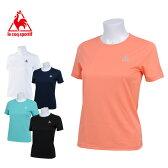 ルコック le coq sportifスポーツウェア Tシャツ レディースQB-017065