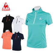 ルコック スポーツ レディースハーフジップスポーツウェア Tシャツ
